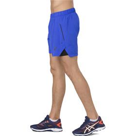 asics Cool 2-N-1 - Short running Homme - bleu